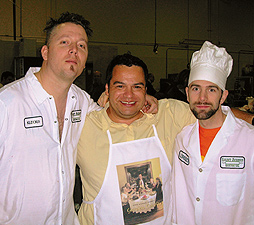 (From left) Chef Klecko, John Michael Lerma, Lorenzo Allen.