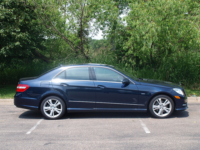 2012 Mercedes-Benz E350 4MATIC sedan. All Photos by Randy Stern
