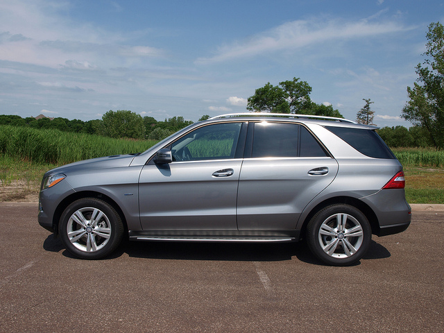 2012 Mercedes-Benz ML350 4MATIC. All Photos by Randy Stern