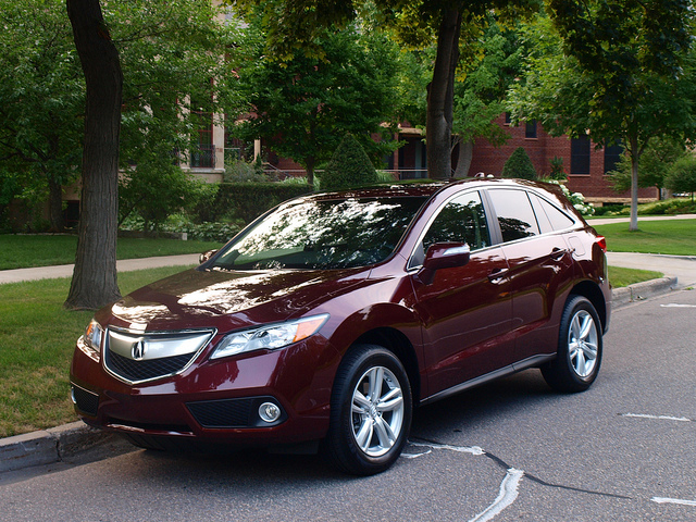 2013 Acura RDX. All photos by Randy Stern