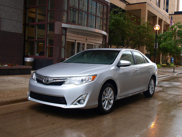 2012 Toyota Camry XLE. All photos by Randy Stern