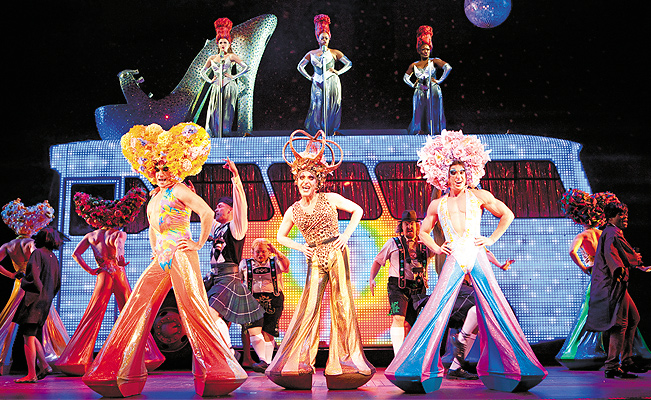 Priscilla Queen of The Desert. Photo by Joan Marcus