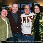 Pictured l-r Amy Johnson  Mark Hiemenz Charlie Rounds Denise Roy