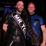 Sash brothers, left to right: Kyle Truss, Mr. Twin Cities Leather 2013, and Ryan Brown, Mr. Minneapolis Eagle 2013.