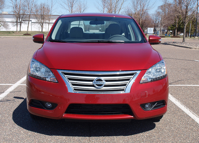 2013 Nissan Sentra SL - All photos by Randy Stern