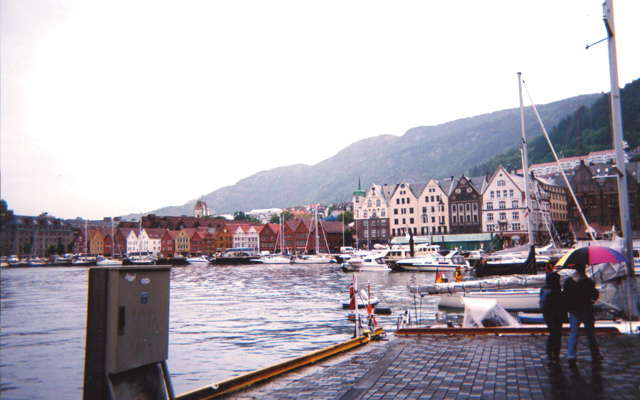 Harbor in Bergen. Photo by Carla Waldemar
