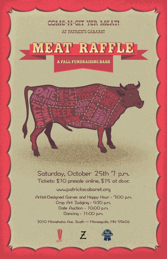 MEAT RAFFLE: a fall fundraising bash! | Lavender Magazine